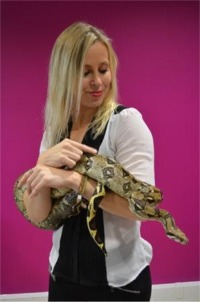 [Geoff The Boa for Photo Shoots, TV, Films & Stage Shows]